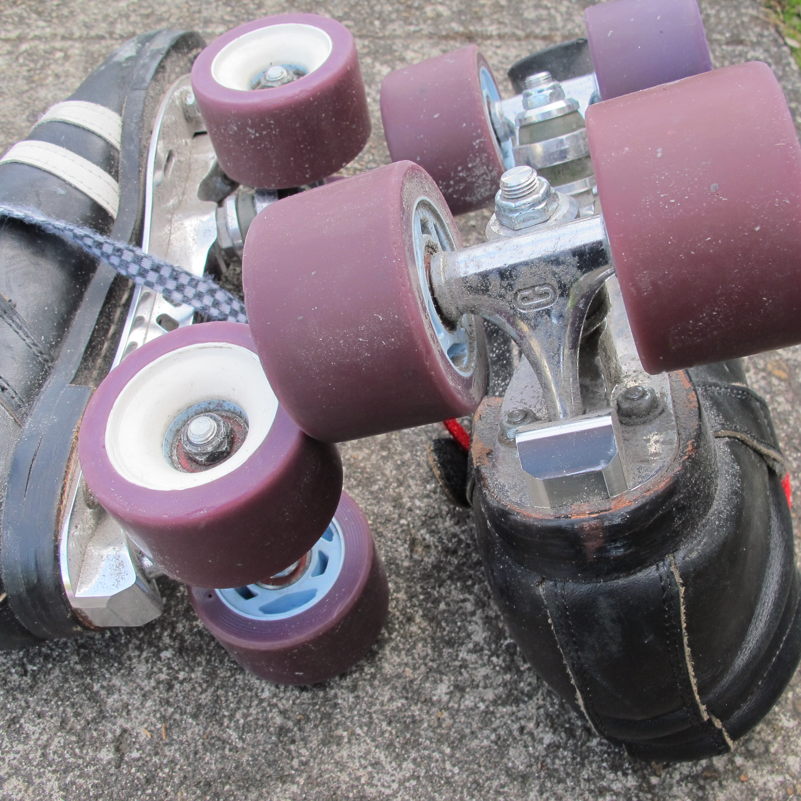 These skates have seen better days/need some love and attention.